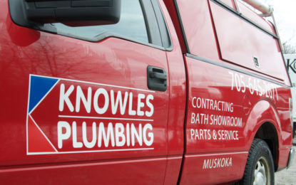 Knowles Plumbing Service Truck