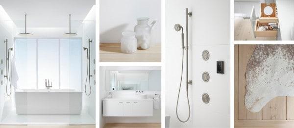 Kohler White bathroom
